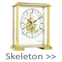 Skeleton Mantel Clocks