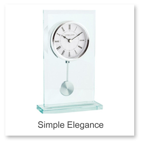 Simple Elegance Mantel Clocks