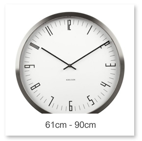 61 - 90cm Wall Clocks
