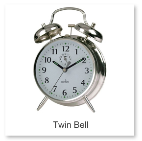 Twin Bell Alarm Clocks