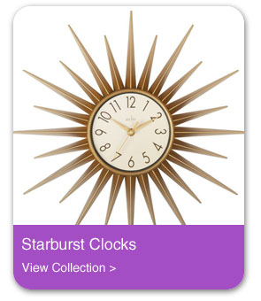 Starburst Wall Clocks