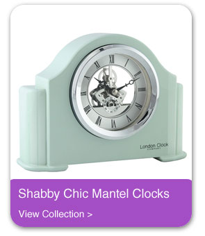 Shabby Chic Mantel Clocks