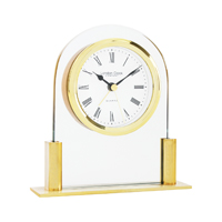Glass Mantle Clocks
