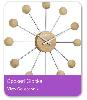 Spoked Wall Clocks