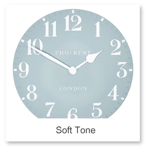 Soft Tone Wall Clocks