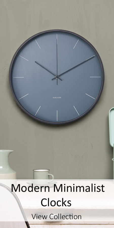 Modern Minimalist Clocks