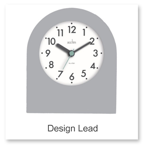 Design Lead Mantel Clocks