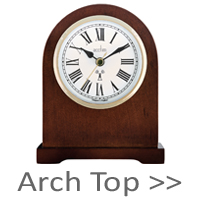 Arch Top Mantel Clocks