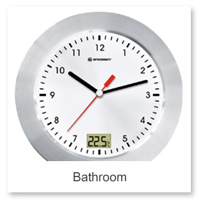 Bathroom Wall Clocks