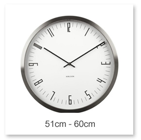 51 - 60cm Wall Clocks