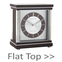 Flat Top Mantel Clocks