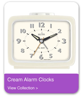 Silent Alarm Clocks