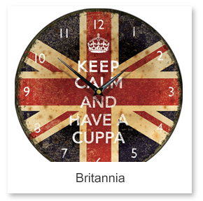 Britannia Wall Clocks