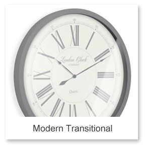 Modern Transitional Wall Clocks