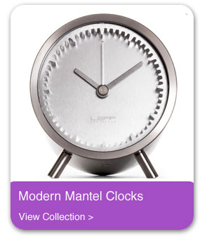 Modern Mantel Clocks