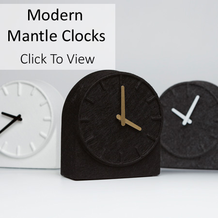 Modern Mantle Clocks