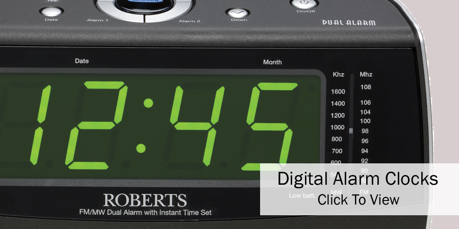 Digital Alarm Clocks