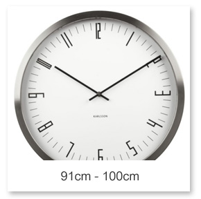 91 - 100cm Wall Clocks