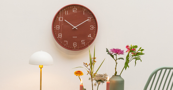 Wooden Old Town Square Clock Kitchen Wall Clock Home Office Living Room XL 61 cm